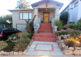 Front Porch Stone Steps Masonry Garden