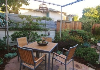 East Bay Oakland Garden Patio Sunset